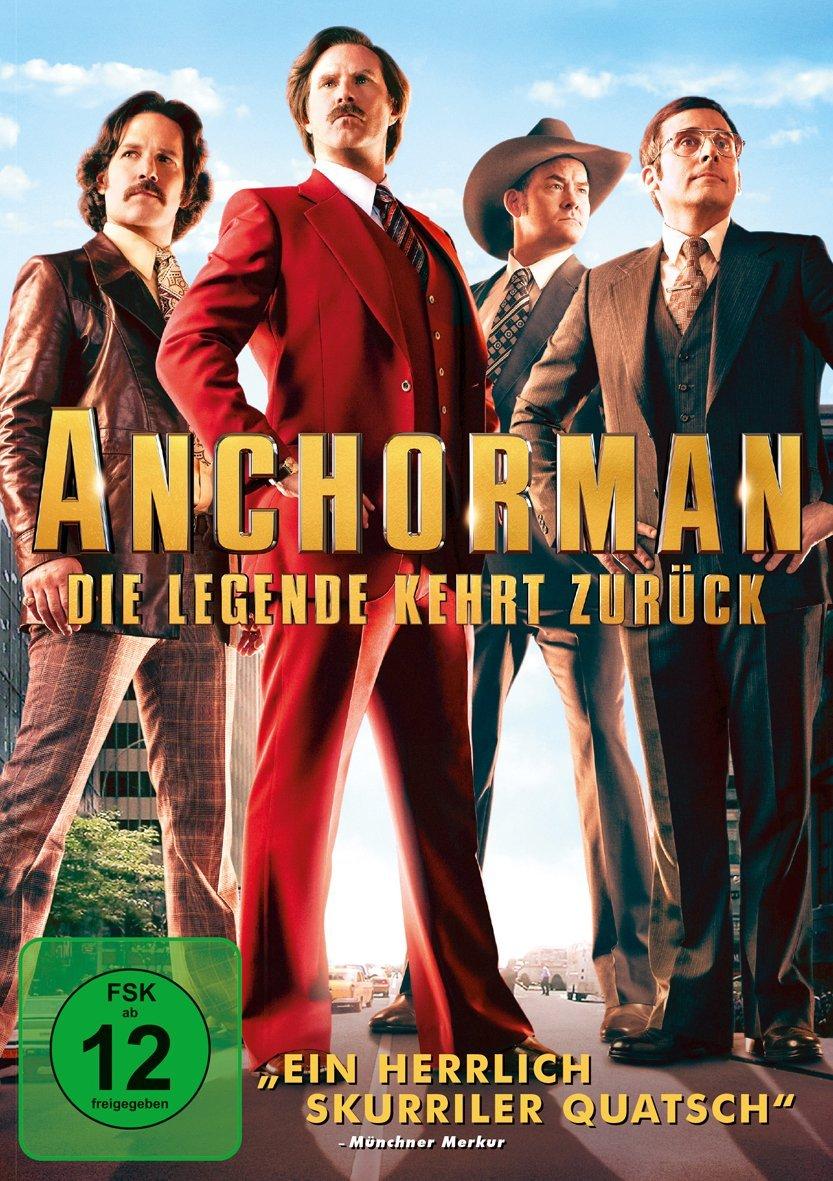 DVD-Cover von Anchorman – Die Legende kehrt zurück
