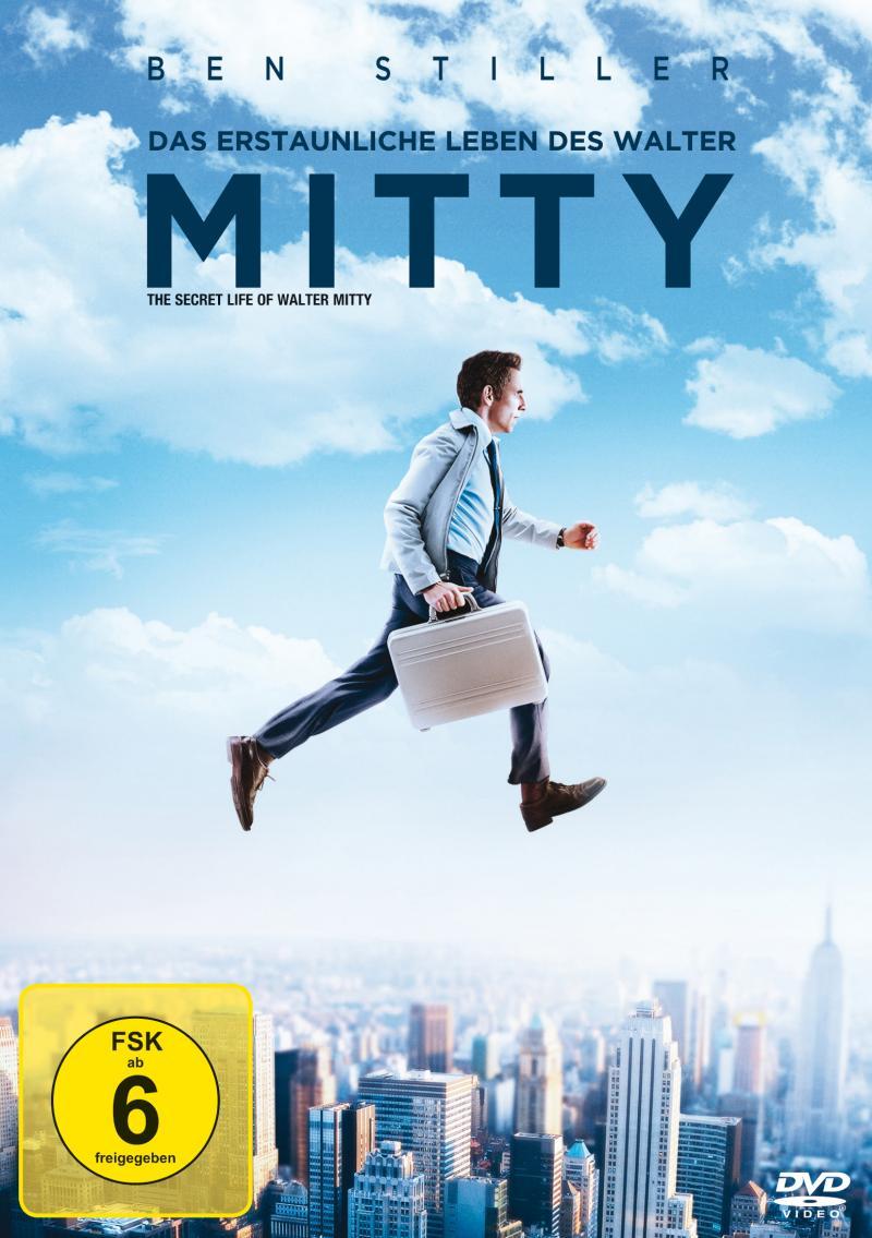 DVD-Cover von Das erstaunliche Leben des Walter Mitty