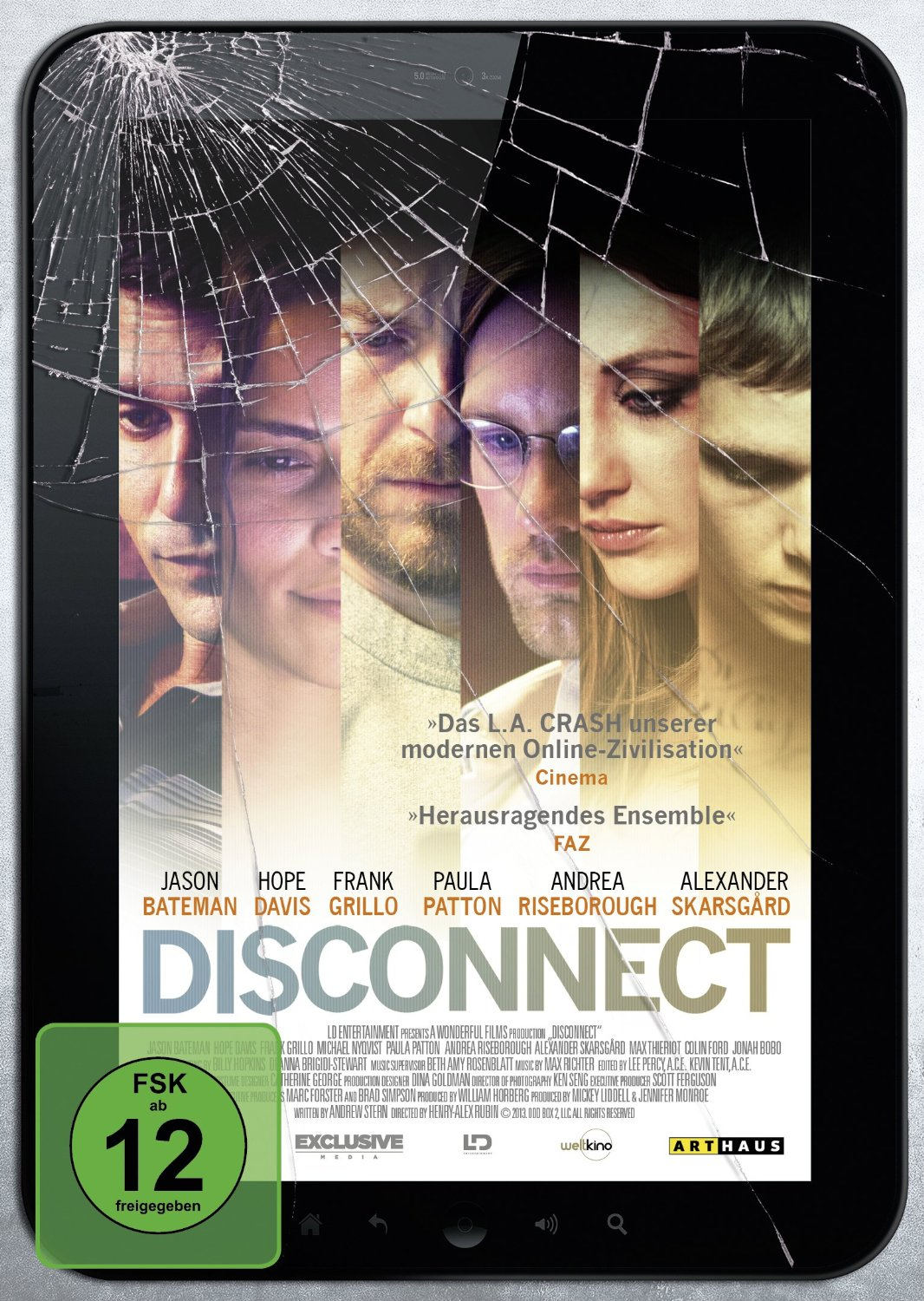 DVD-Cover von Disconnect