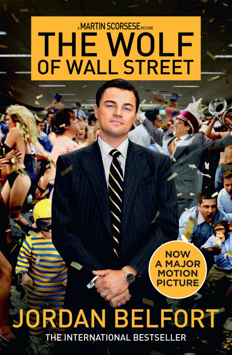 DVD-Cover von The Wolf of Wall Street