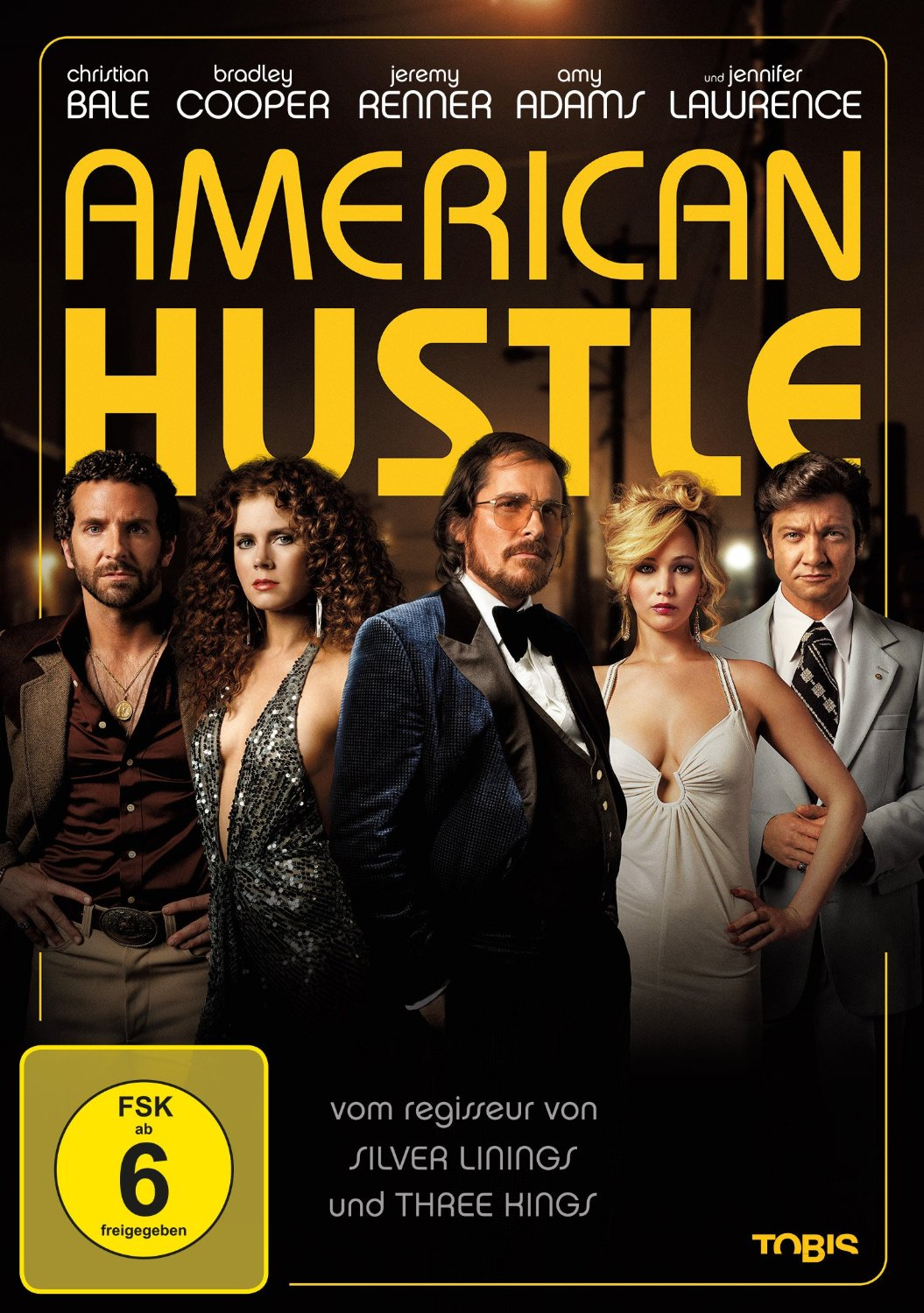 DVD-Cover von American Hustle