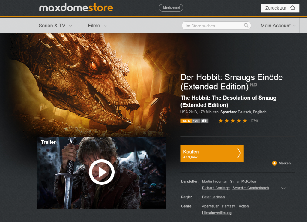 Maxdome-Store