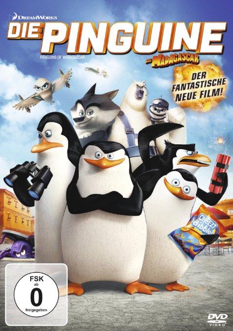 DVD-Cover von Die Pinguine aus Madagascar