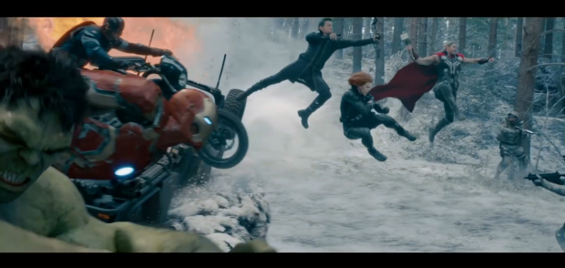 Avengers - age of Ultron screenshot