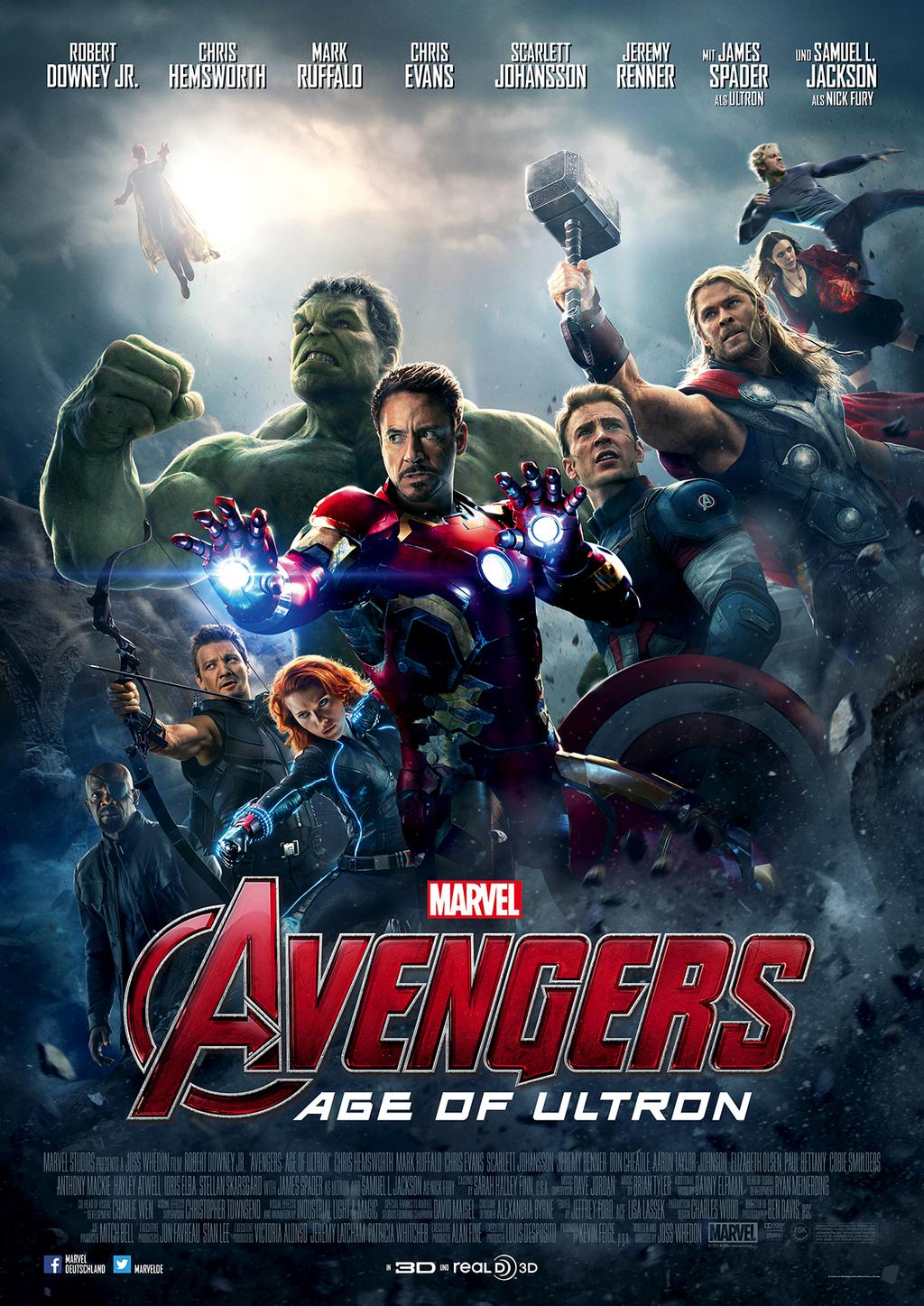 DVD-Cover von Avengers: Age of Ultron