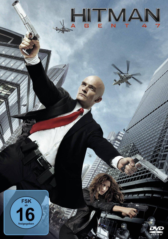 DVD-Cover von Hitman Agent 47