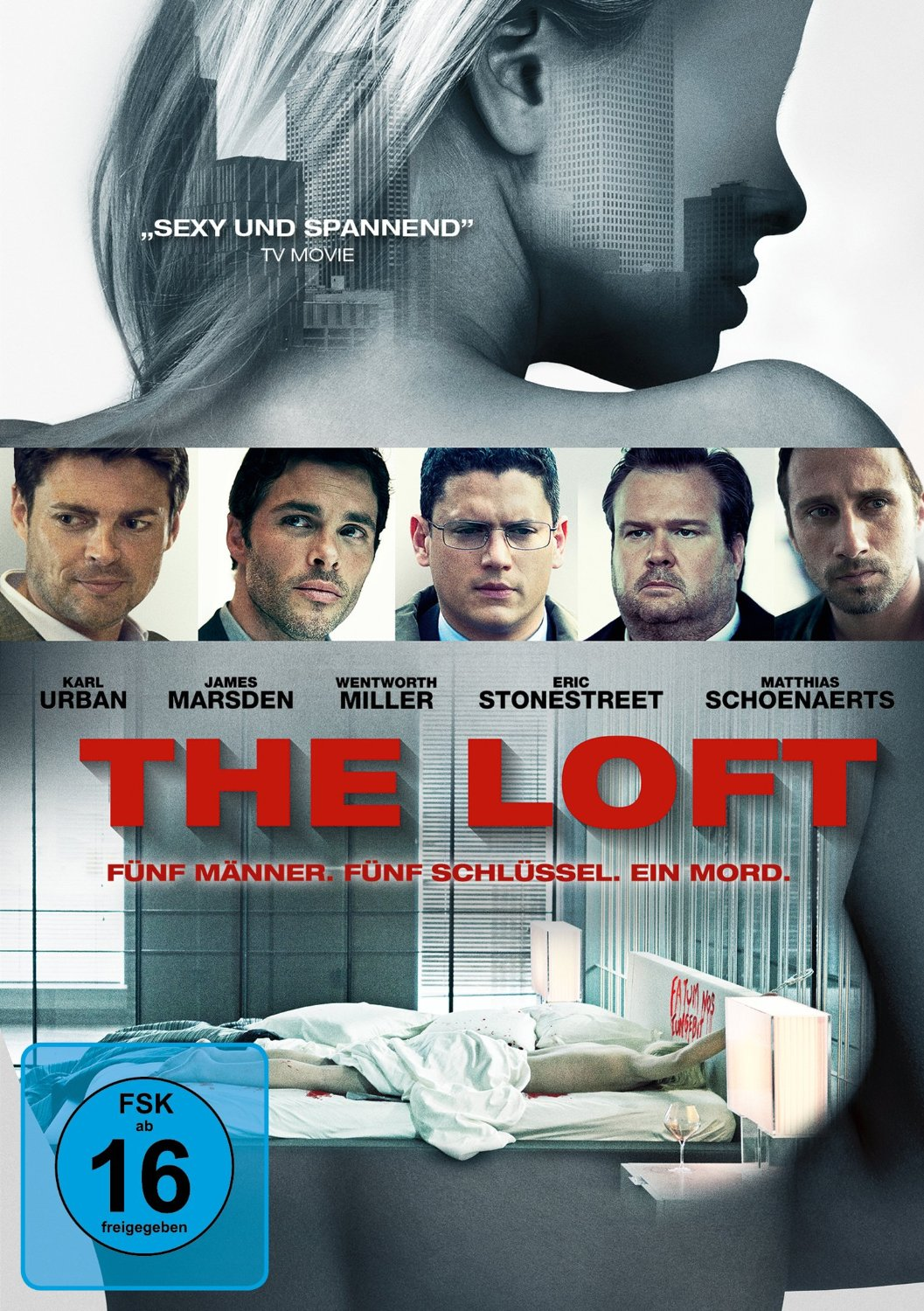 DVD-Cover von The Loft