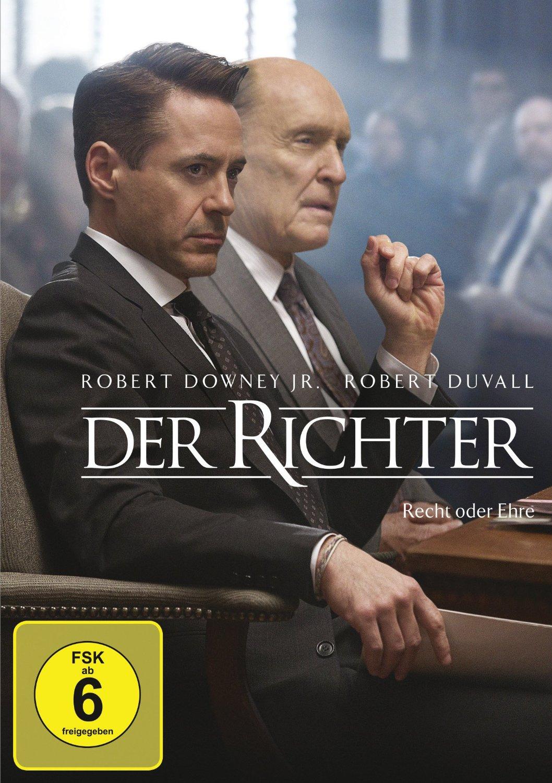 DVD-Cover von Der Richter - Recht oder Ehre