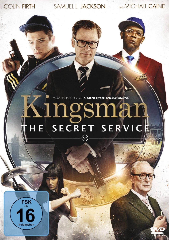 DVD-Cover von Kingsman: The Secret Service