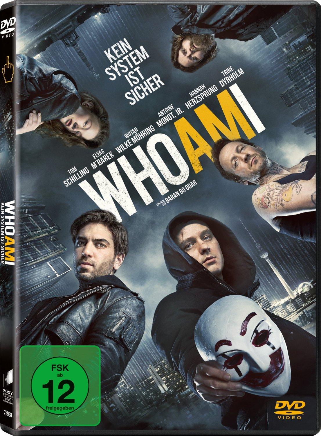 DVD-Cover von Who am I