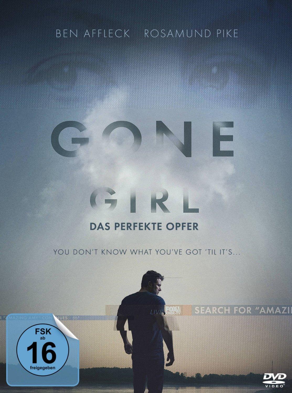 DVD-Cover von Gone Girl – Das perfekte Opfer