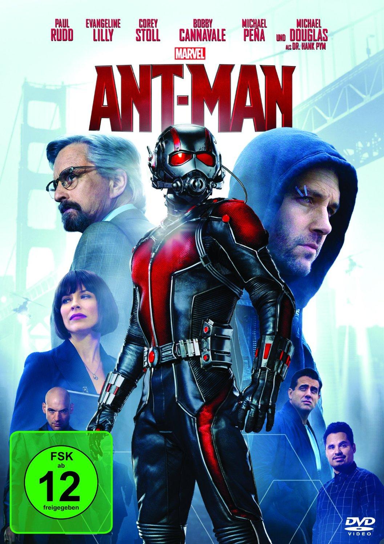 DVD-Cover von Ant-Man