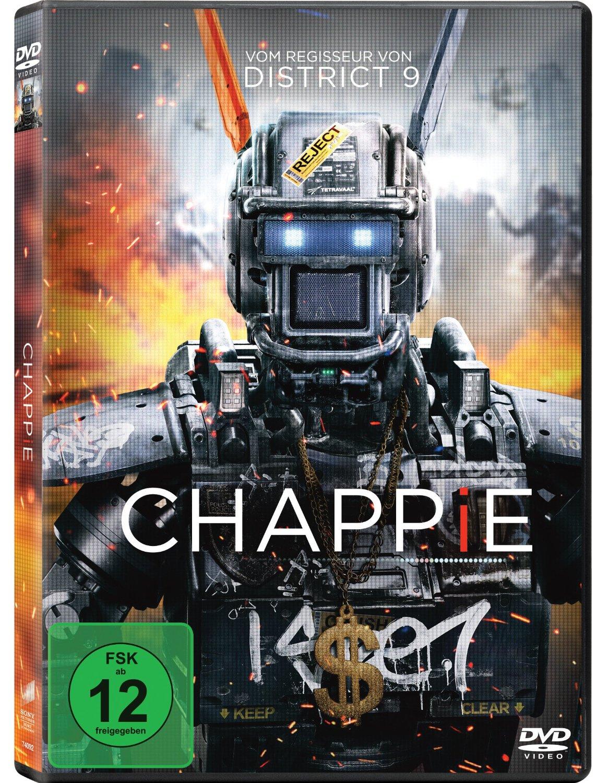 DVD-Cover von Chappie