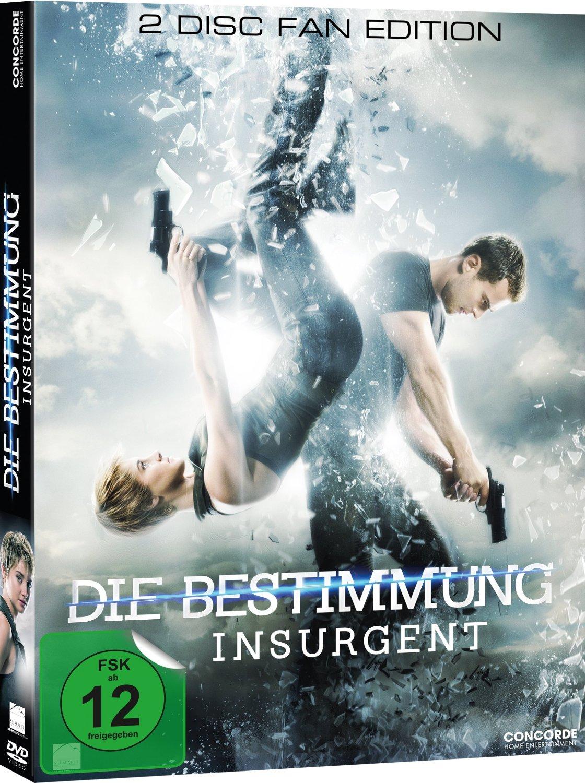 DVD-Cover von Die Bestimmung - Insurgent