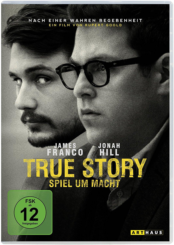 DVD-Cover von True Story - Spiel um Macht