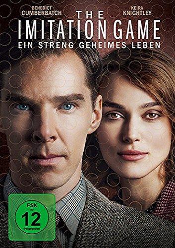 DVD-Cover von The Imitation Game – Ein streng geheimes Leben