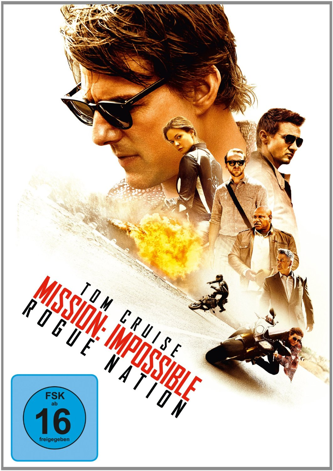 DVD-Cover von Mission: Impossible – Rogue Nation