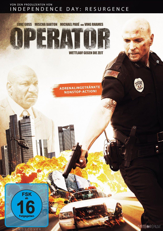 DVD-Cover von Operator - Wettlauf gegen die Zeit