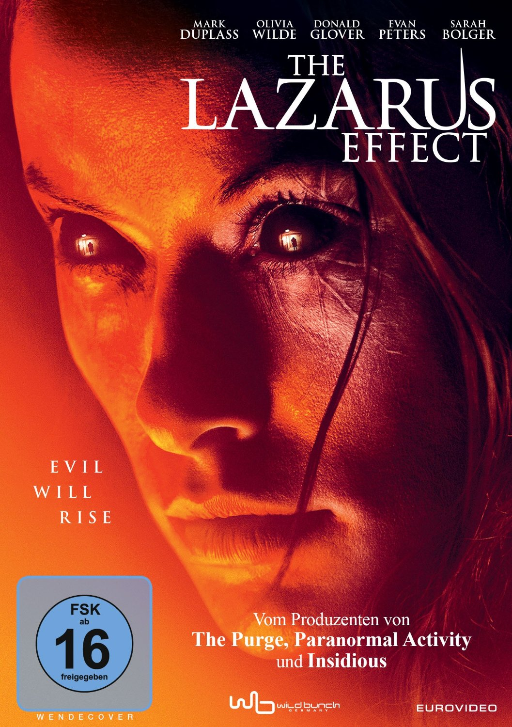 DVD-Cover von The Lazarus Effect