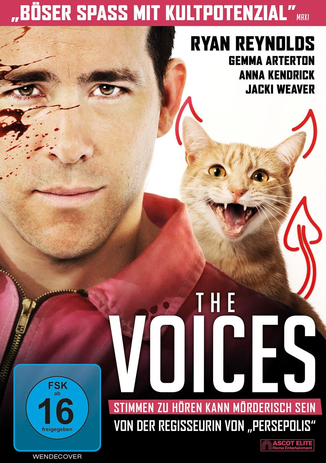 DVD-Cover von The Voices