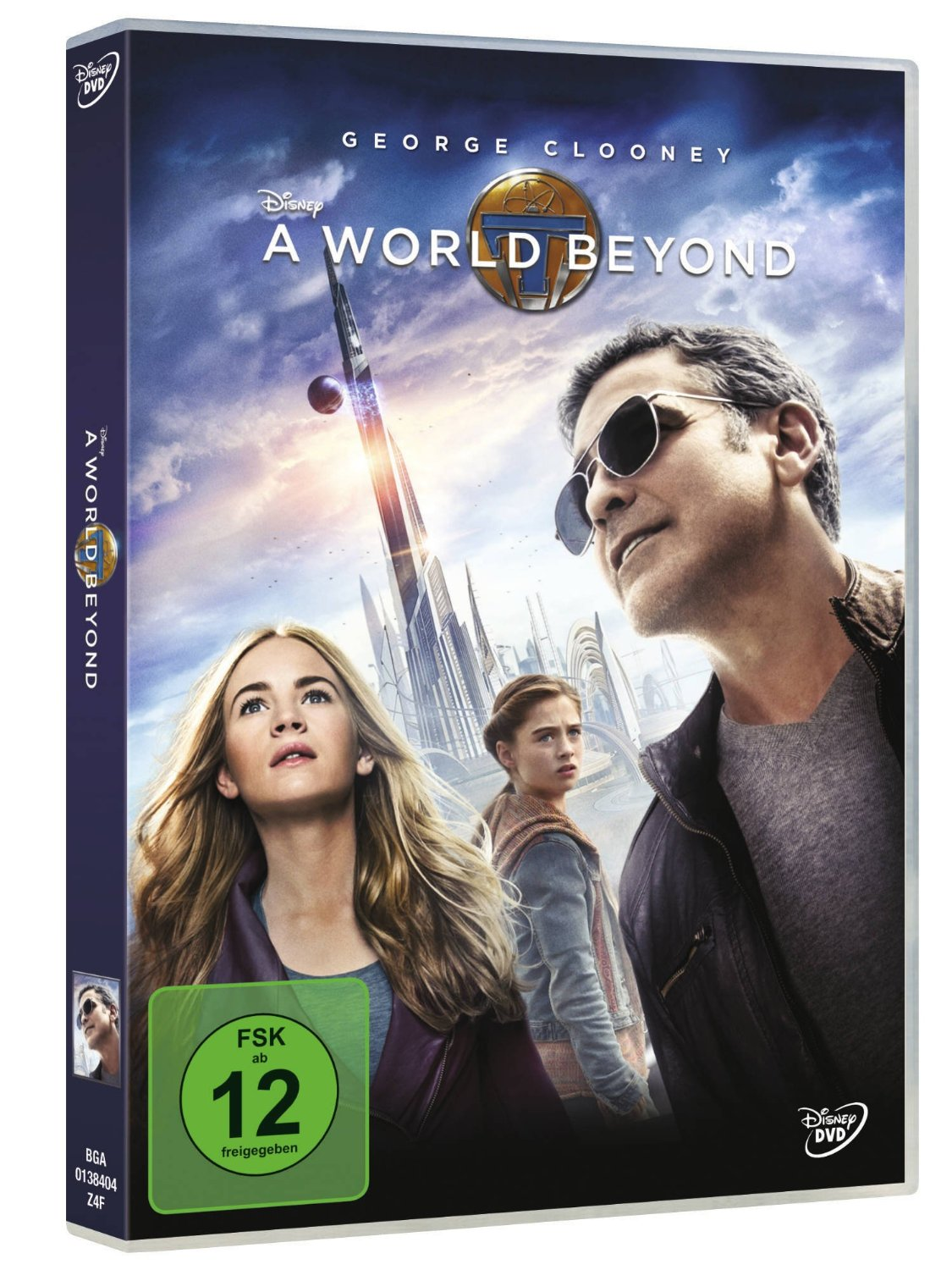 DVD-Cover von A World Beyond