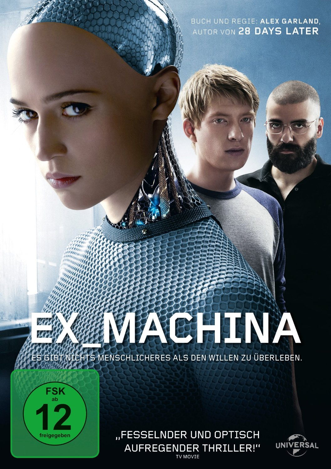 DVD-Cover von Ex Machina