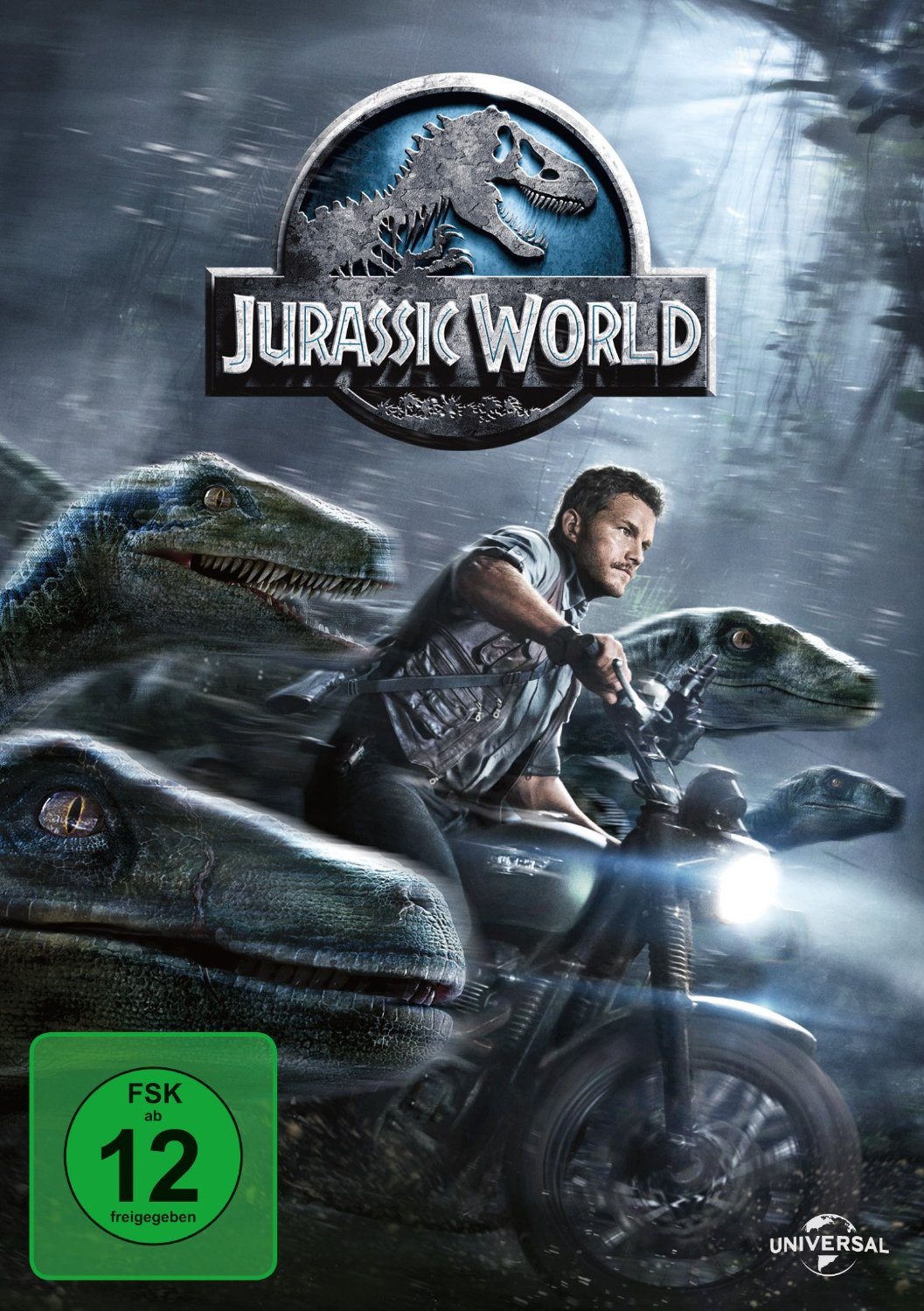 DVD-Cover von Jurassic World