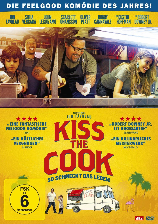 DVD-Cover von Kiss the Cook - So schmeckt das Leben!