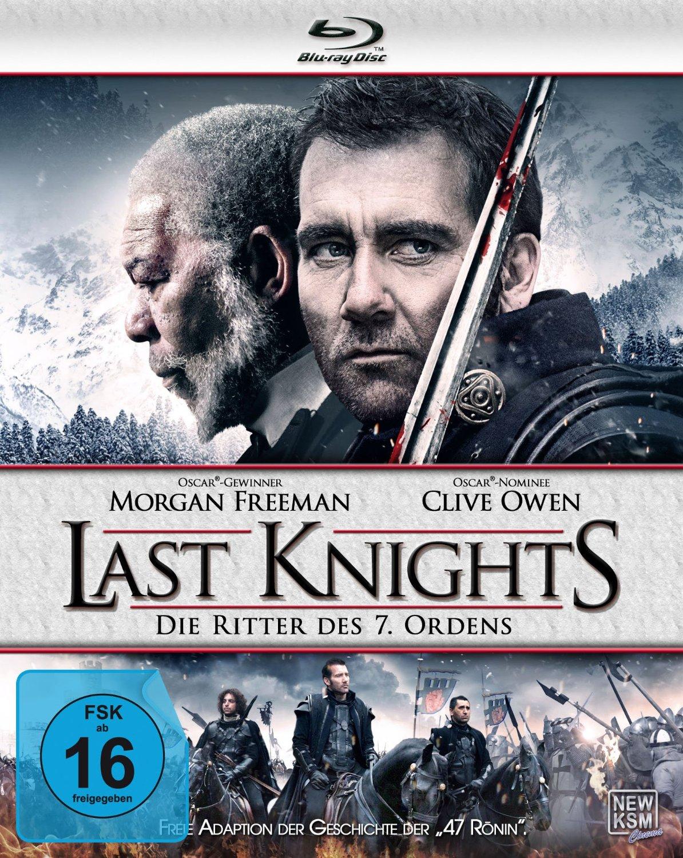 DVD-Cover von Last Knights - Die Ritter des 7. Ordens