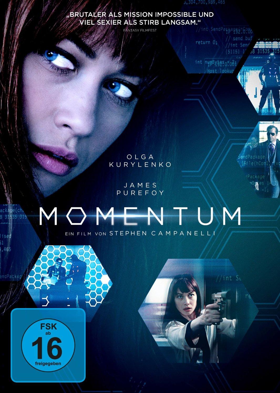 DVD-Cover von Momentum