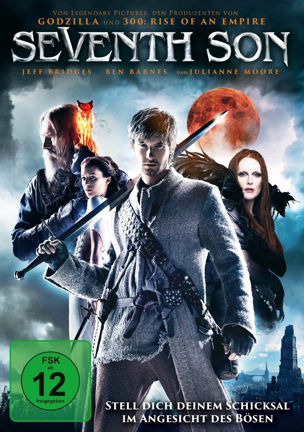 DVD-Cover von Seventh Son