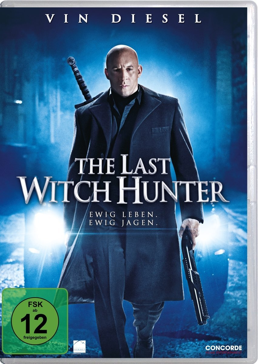 DVD-Cover von The Last Witch Hunter