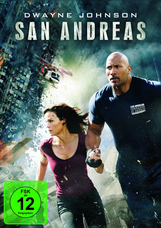 DVD-Cover von San Andreas