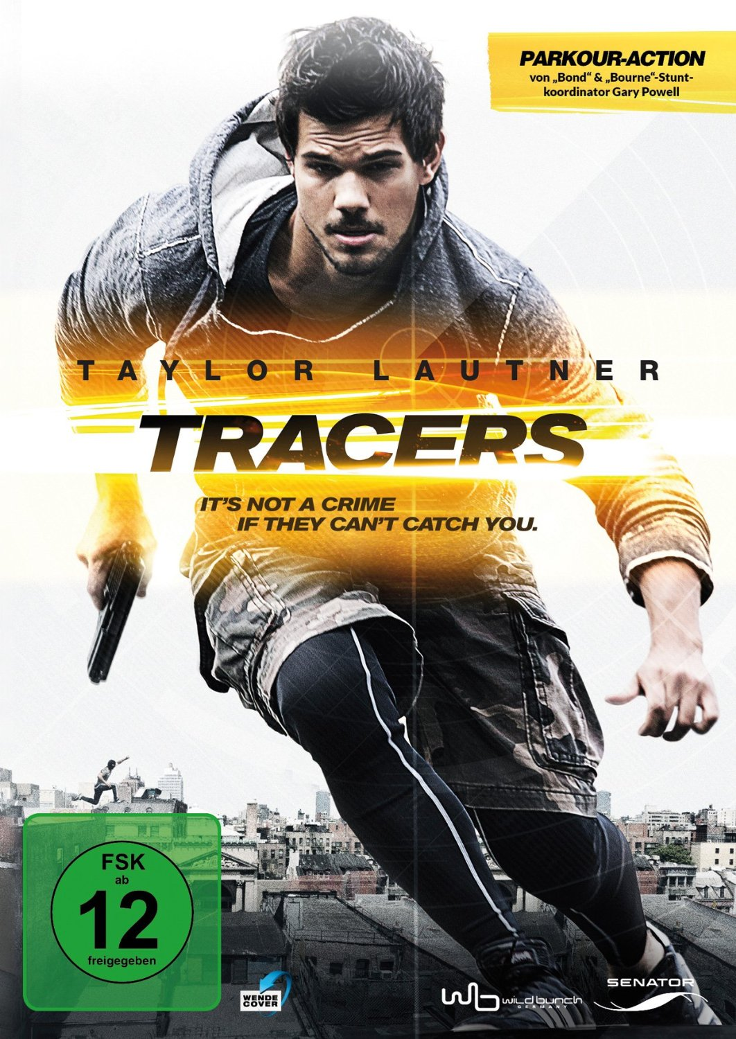 DVD-Cover von Tracers