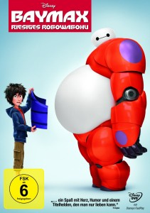 Baymax - DVD-Cover