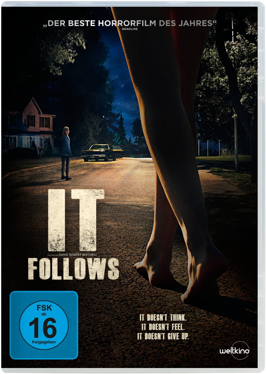 DVD-Cover von It Follows