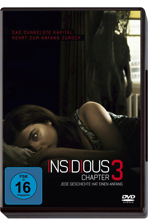 DVD-Cover von Insidious: Chapter 3 - Jede Geschichte hat einen Anfang