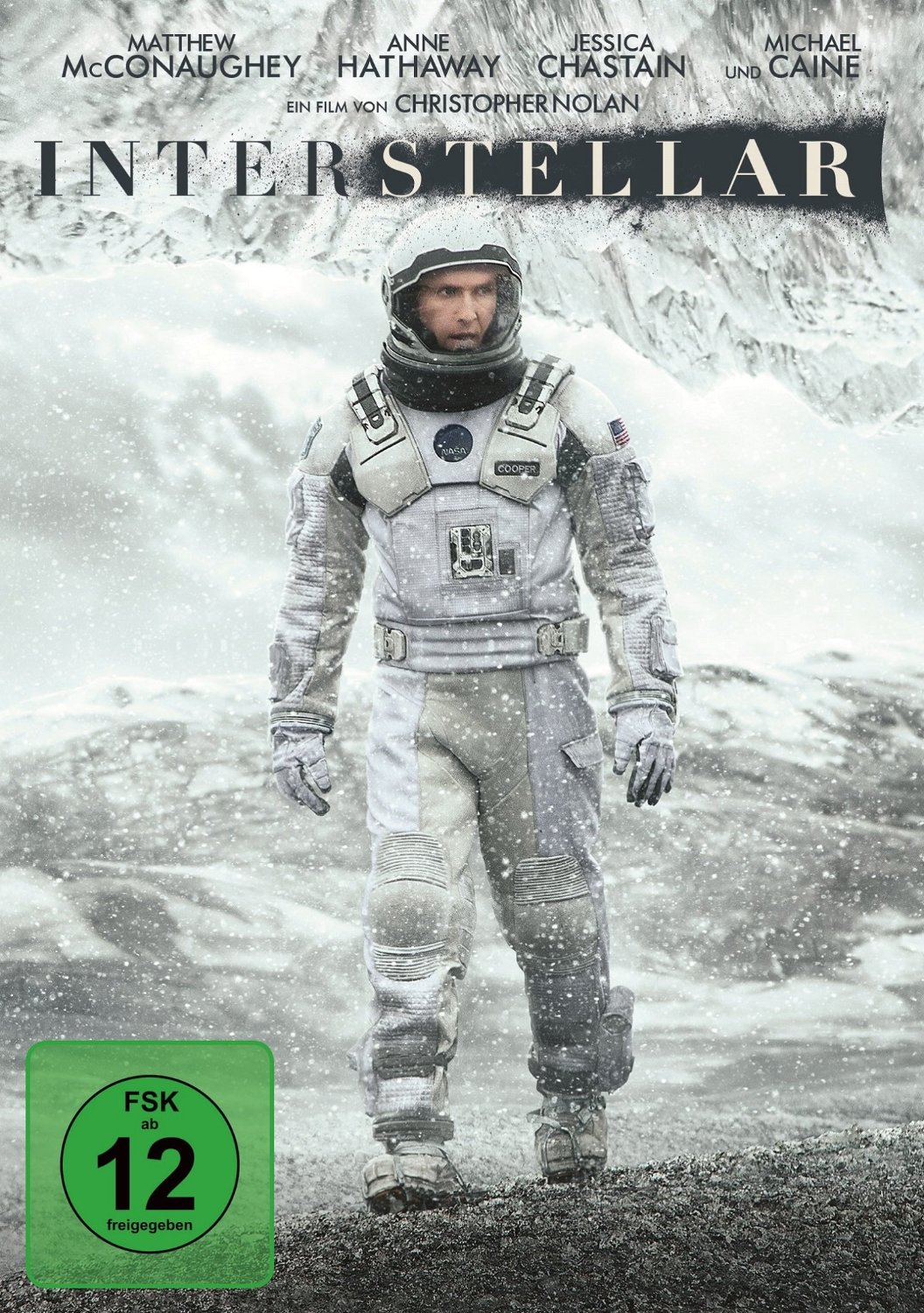 DVD-Cover von Interstellar