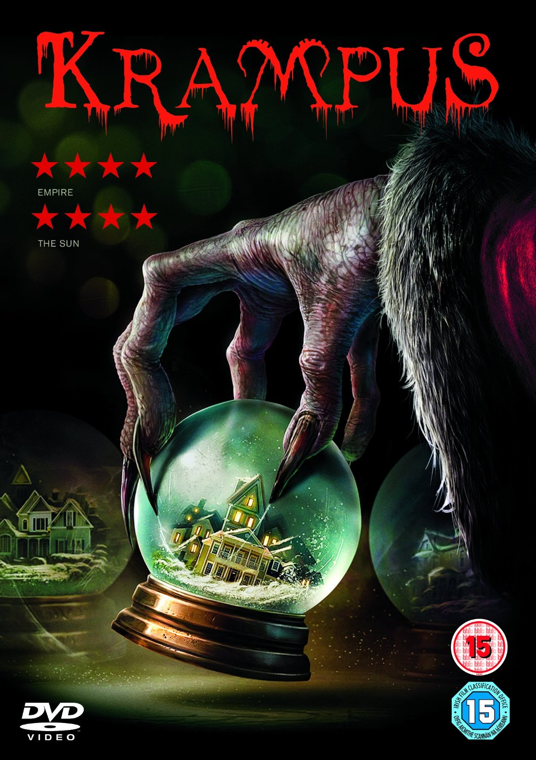 DVD-Cover von Krampus