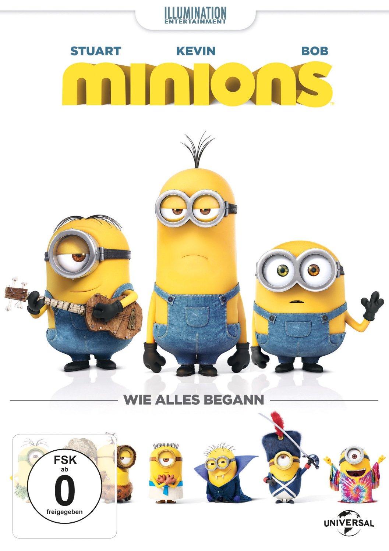 DVD-Cover von Minions (3D)
