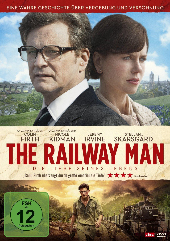 DVD-Cover von The Railway Man - Die Liebe seines Lebens