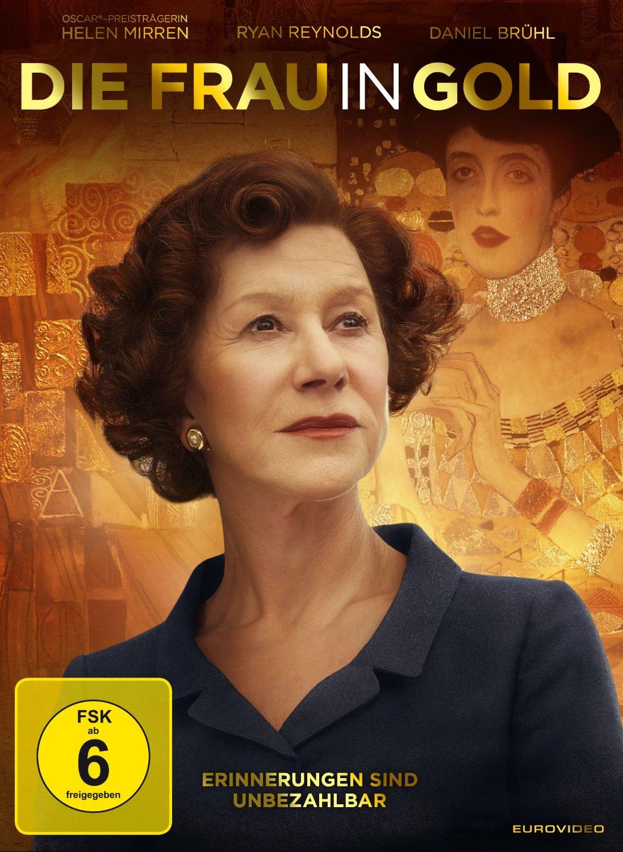 DVD-Cover von Die Frau in Gold