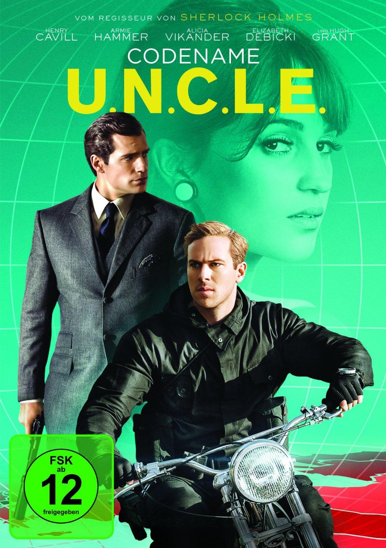 DVD-Cover von Codename U.N.C.L.E.