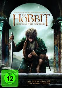Der Hobbit - Die Schlacht der Fünf Heere -DVD-Cover