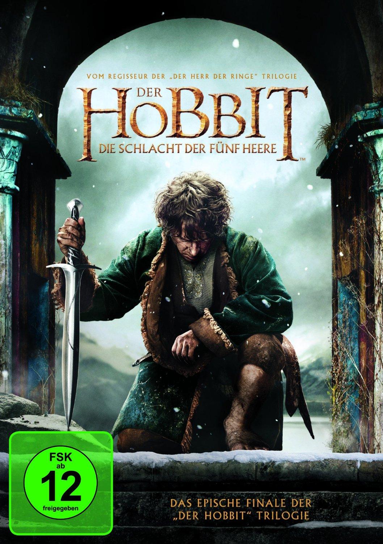 DVD-Cover von Der Hobbit 3 - Die Schlacht der Fünf Heere
