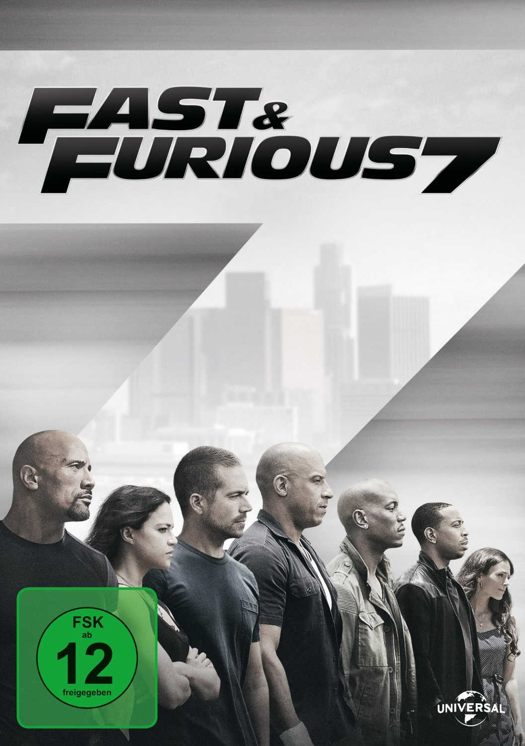 DVD-Cover von Fast and Furious 7