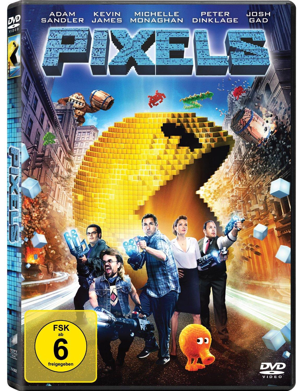 DVD-Cover von Pixels