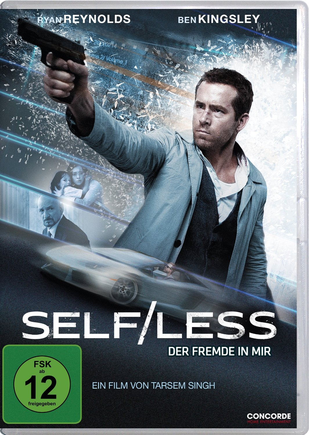 DVD-Cover von Self/Less