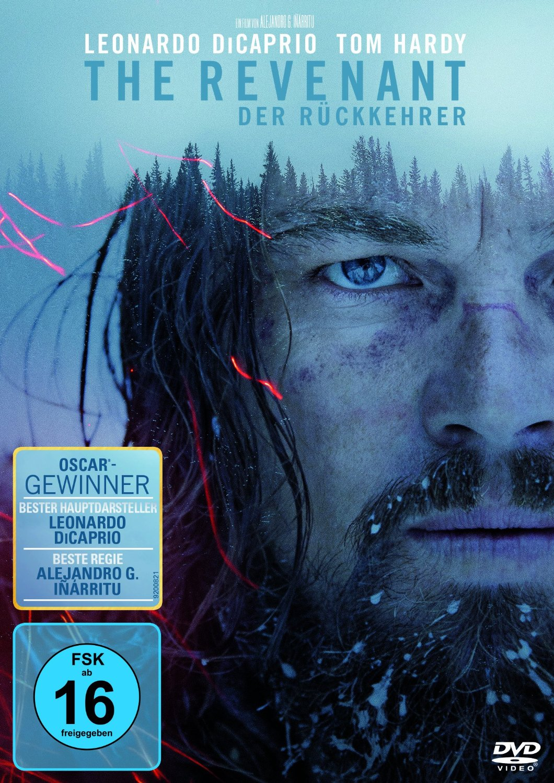 DVD-Cover von The Revenant - Der Rückkehrer