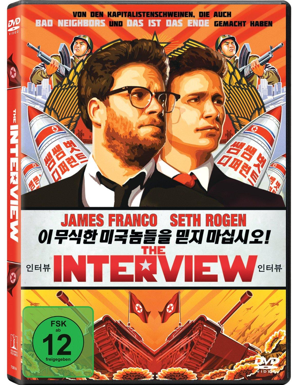 DVD-Cover von The Interview